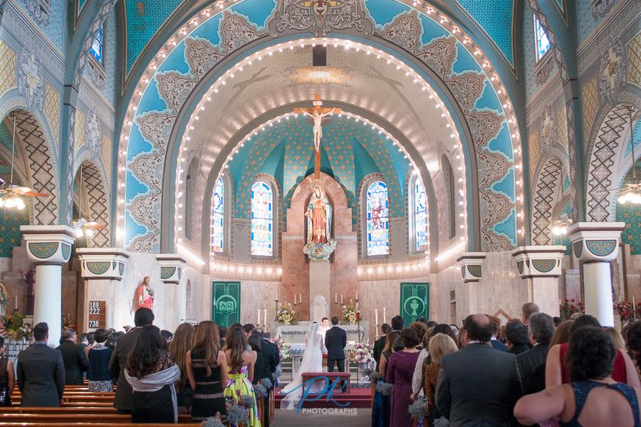 Wedding at Immaculate Heart of Mary - San Antonio Wedding Photographer