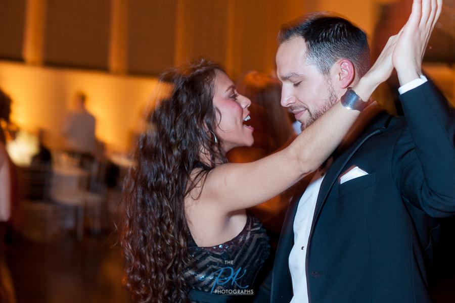 Dancefloor at Wedding Reception at the McNay Art Museum - San Antonio Wedding Photographe