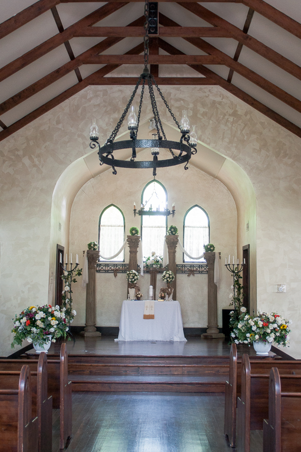 Chapel at Spinelli's Hill Country Wedding Venue | San Antonio Wedding Photographer