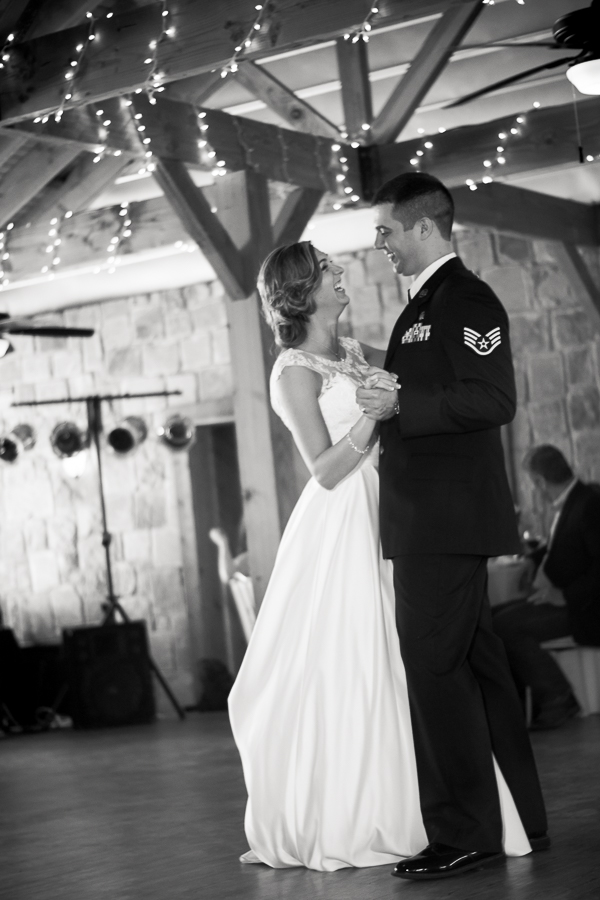 First Dance at Spinelli's Hill Country Wedding Venue | San Antonio Wedding Photographer