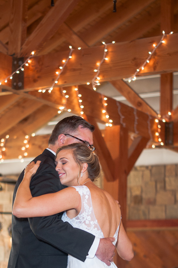 Father-Daughter Dance at Spinelli's Hill Country Wedding Venue | San Antonio Wedding Photographer