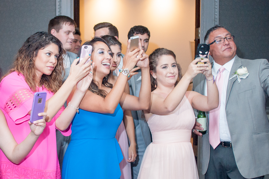 Wedding Reception at St. Anthony Hotel | San Antonio Wedding Photographer