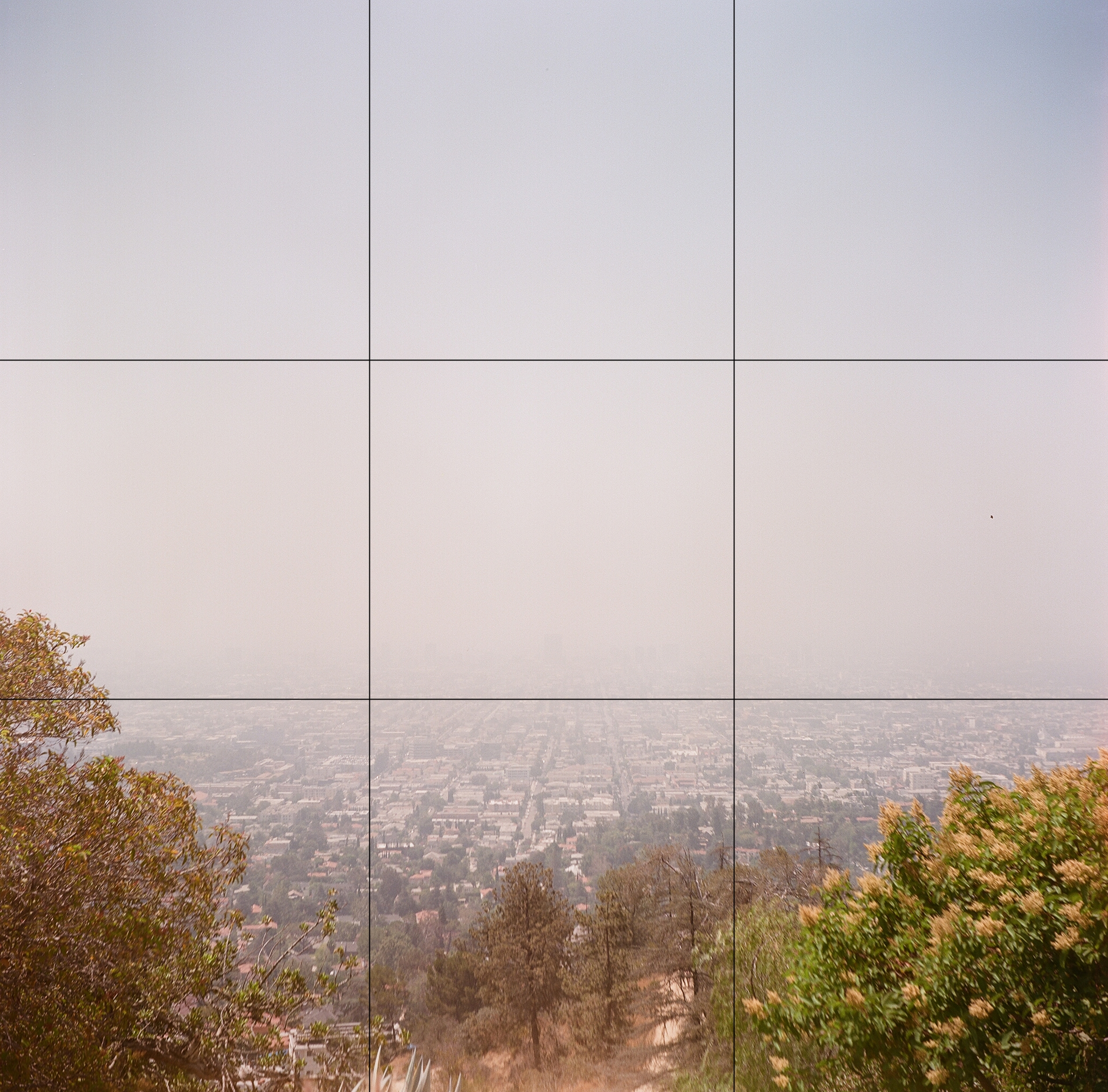 Example of use of the Rule of Thirds in Landscape