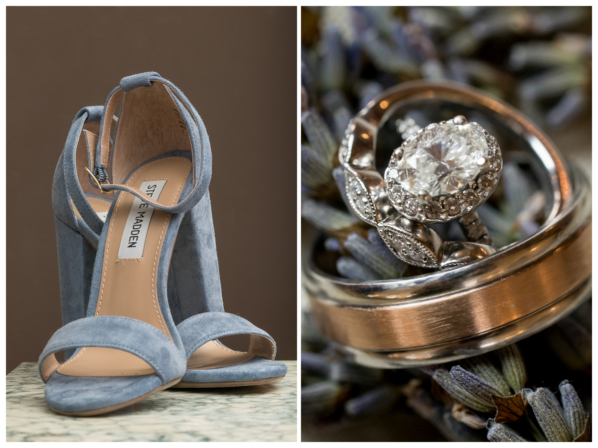 Steve Madden Bridal Shoes and Wedding Rings | San Antonio Wedding Photographer