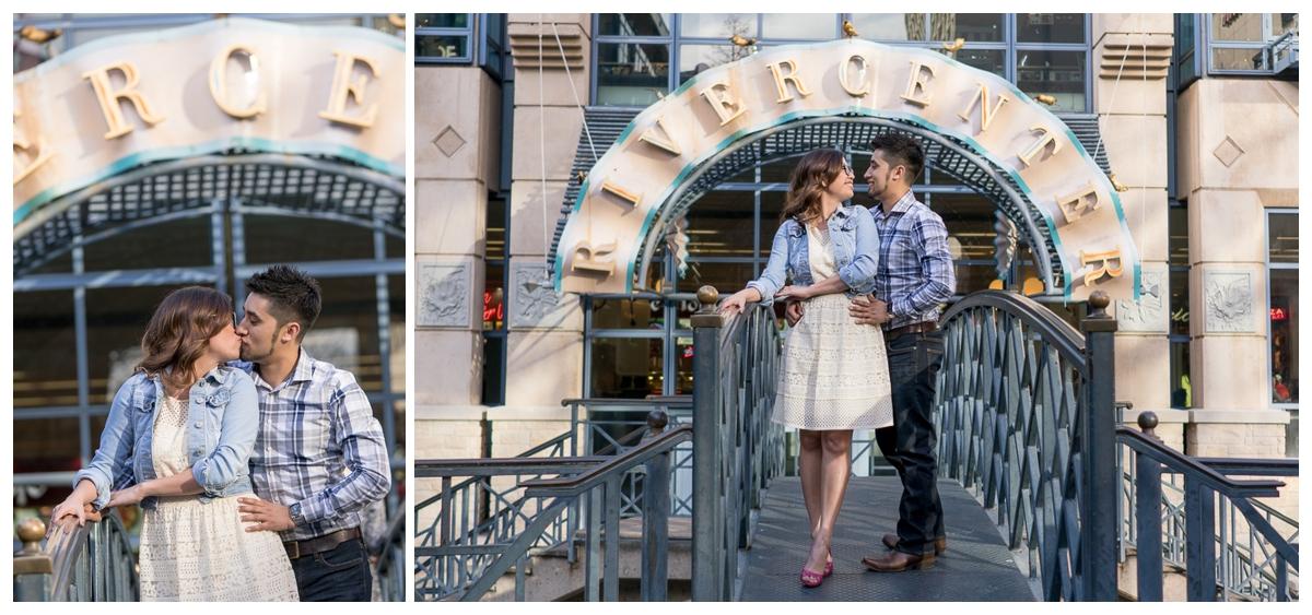 Downtown San Antonio Riverwalk Engagement Session | San Antonio Wedding Photographer