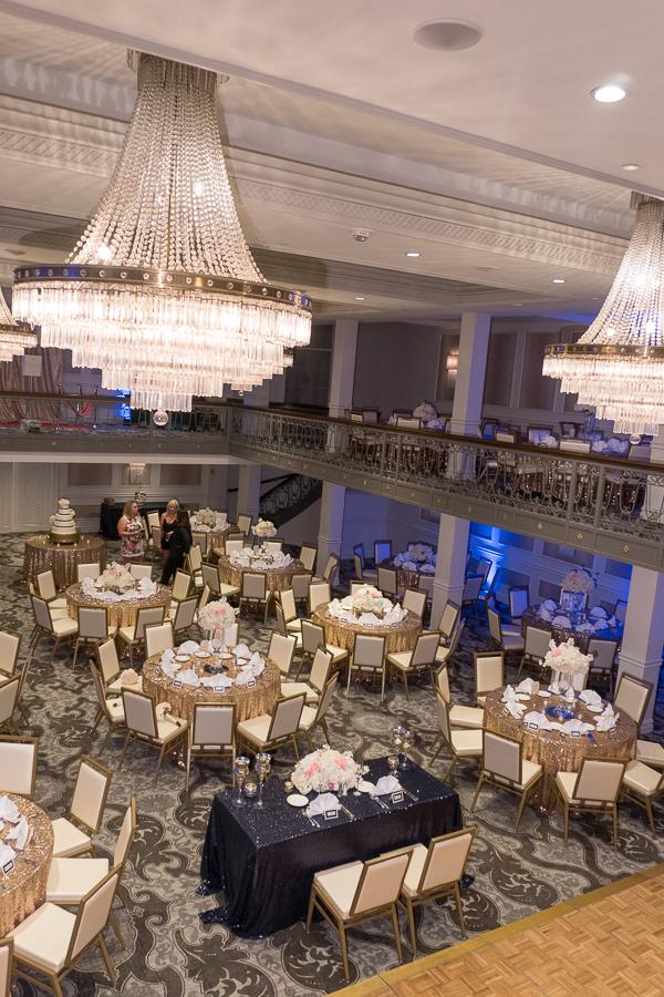 Wedding Reception at the St. Anthony Hotel   San Antonio Wedding Photographer