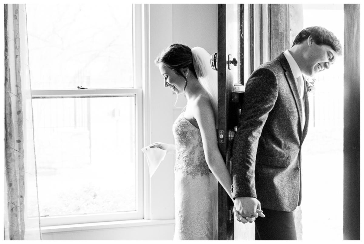 Bride and Groom FIrst Look | San Antonio Wedding Photography