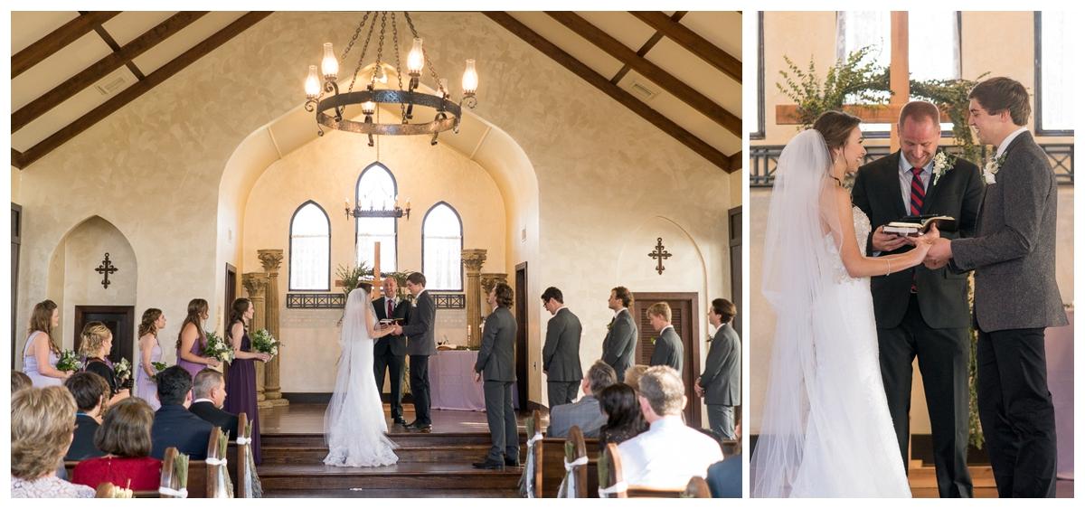 Romantic Spinelli's Wedding Ceremony | San Antonio Wedding Photography