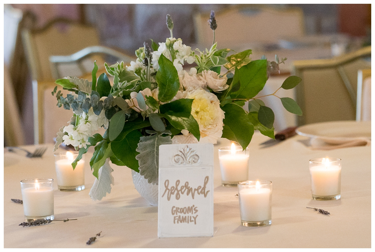 Wedding Reception Details | San Antonio Wedding Photography