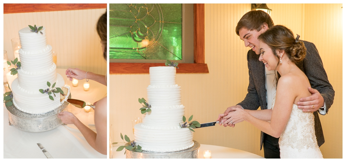 Cake Cutting | San Antonio Wedding Photographer