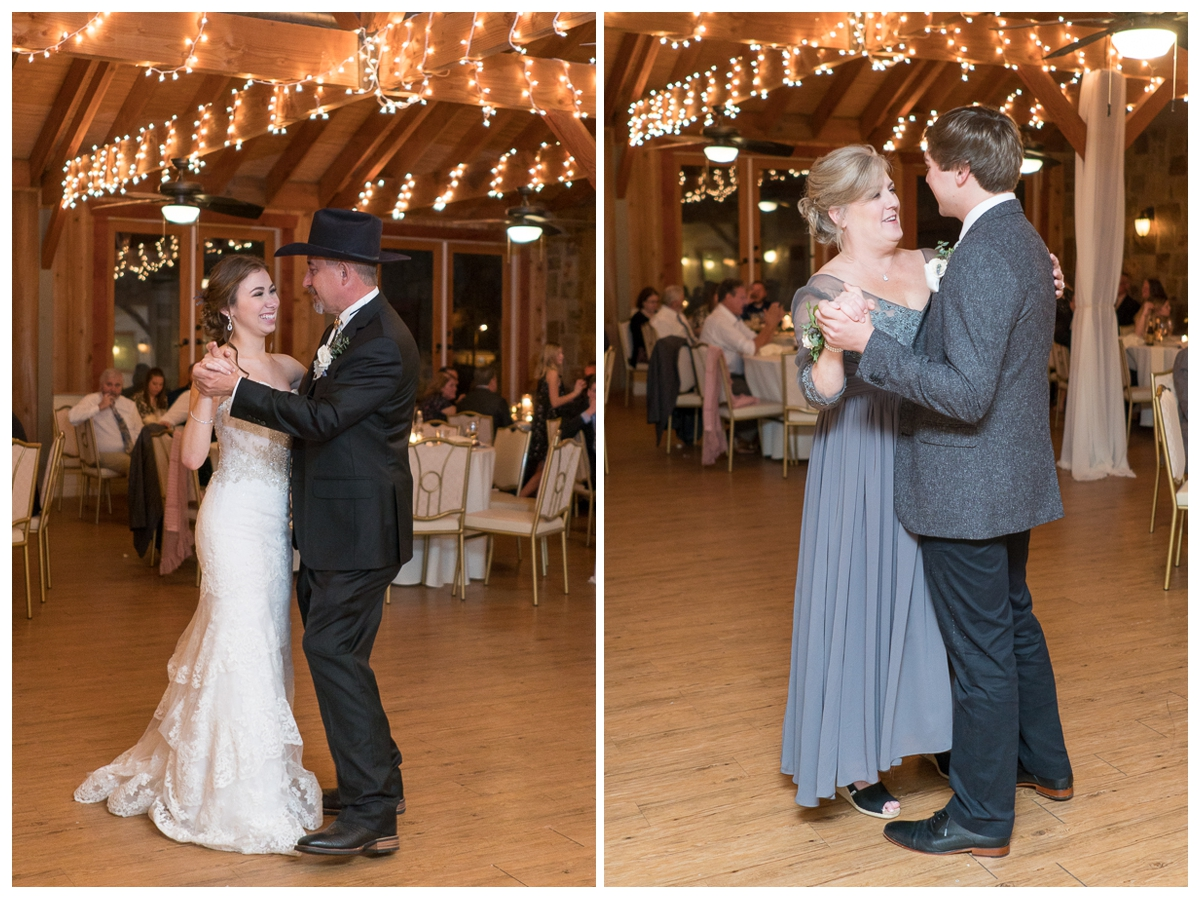 Father Daughter / Mother Son Dances | San Antonio Wedding Photographer