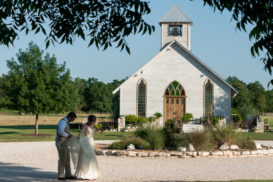 San Antonio Wedding Photographer | Gruene Estate's Open Air Chapel