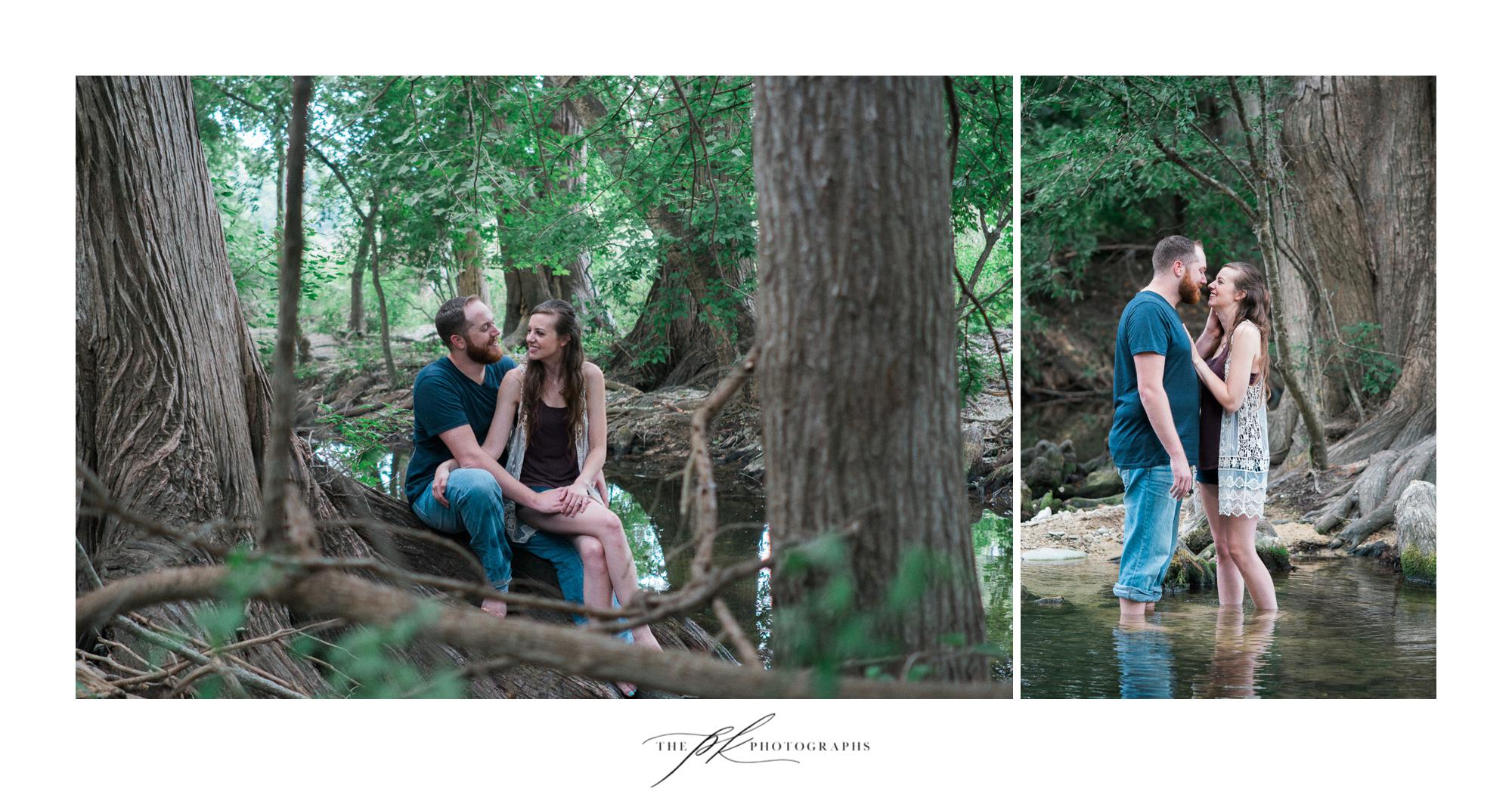 San Antonio Engagement Photography at Cibolo Nature Center