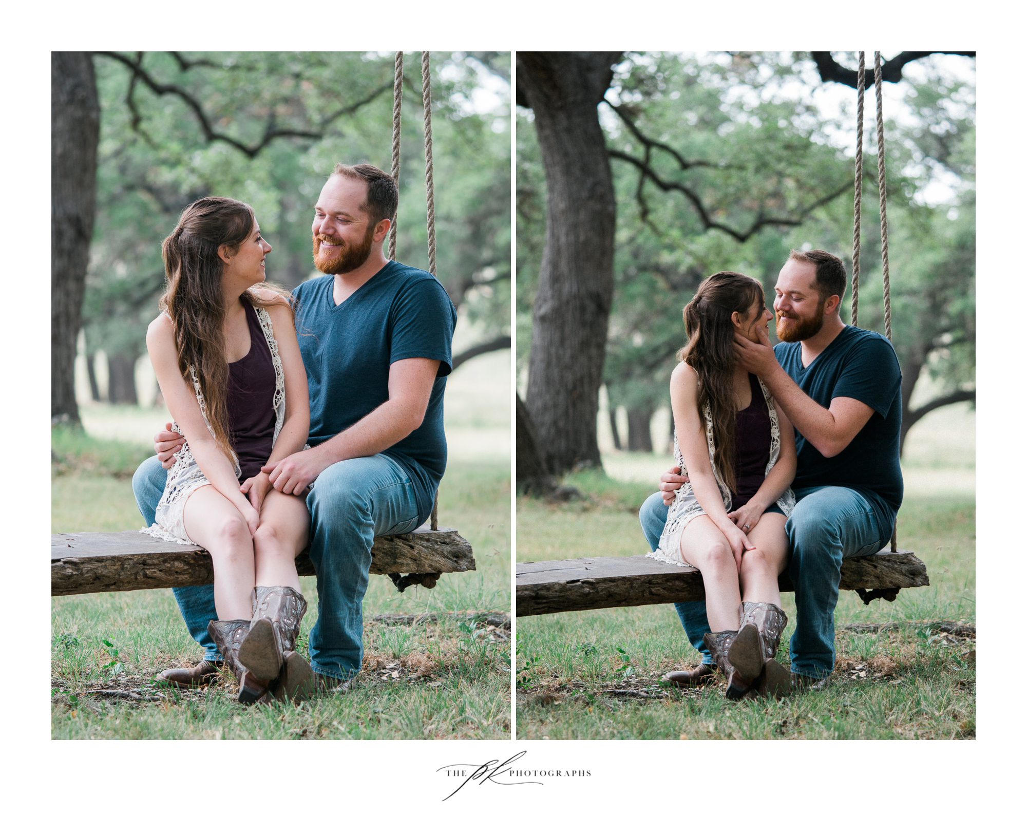 San Antonio Engagement Photography at The Oaks at Boerne