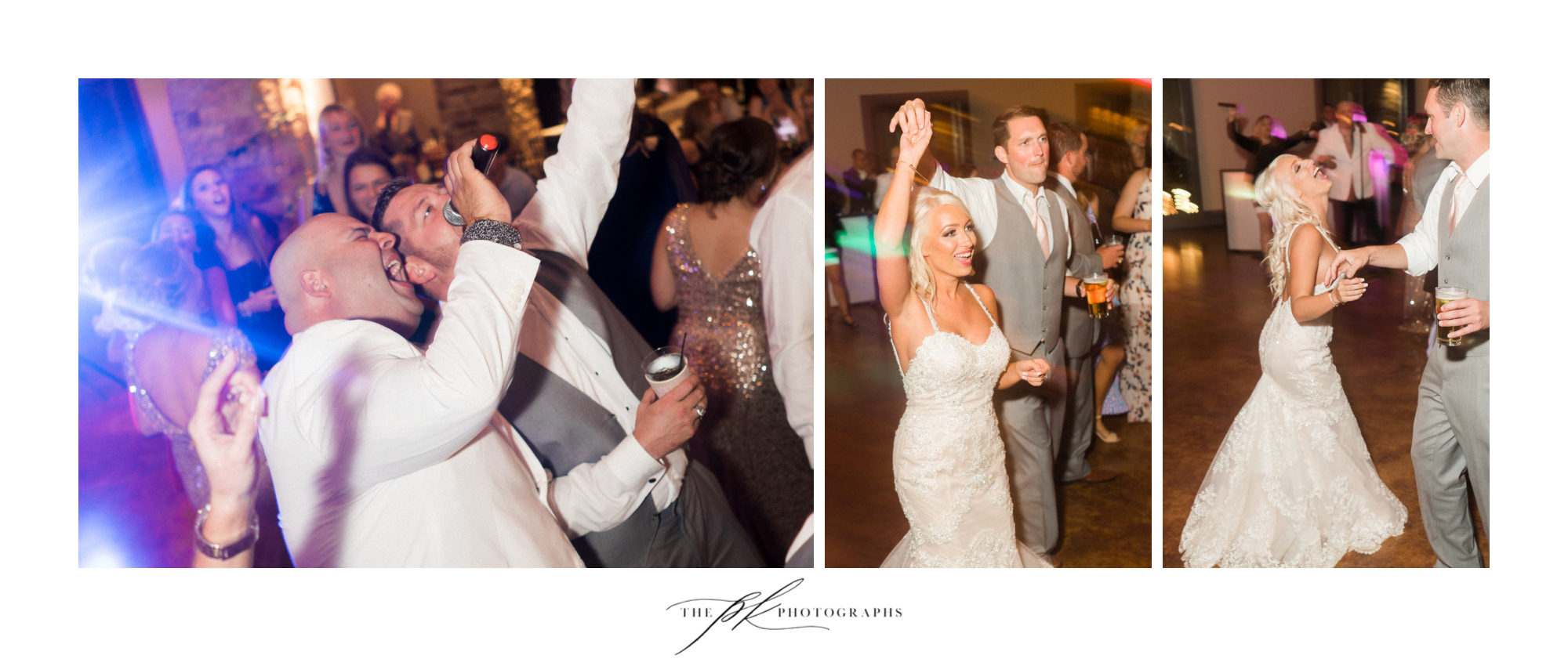 Once that dance floor opened up, the party never ended!  The Lodge At Country Inn Cottages | San Antonio Wedding Photographer