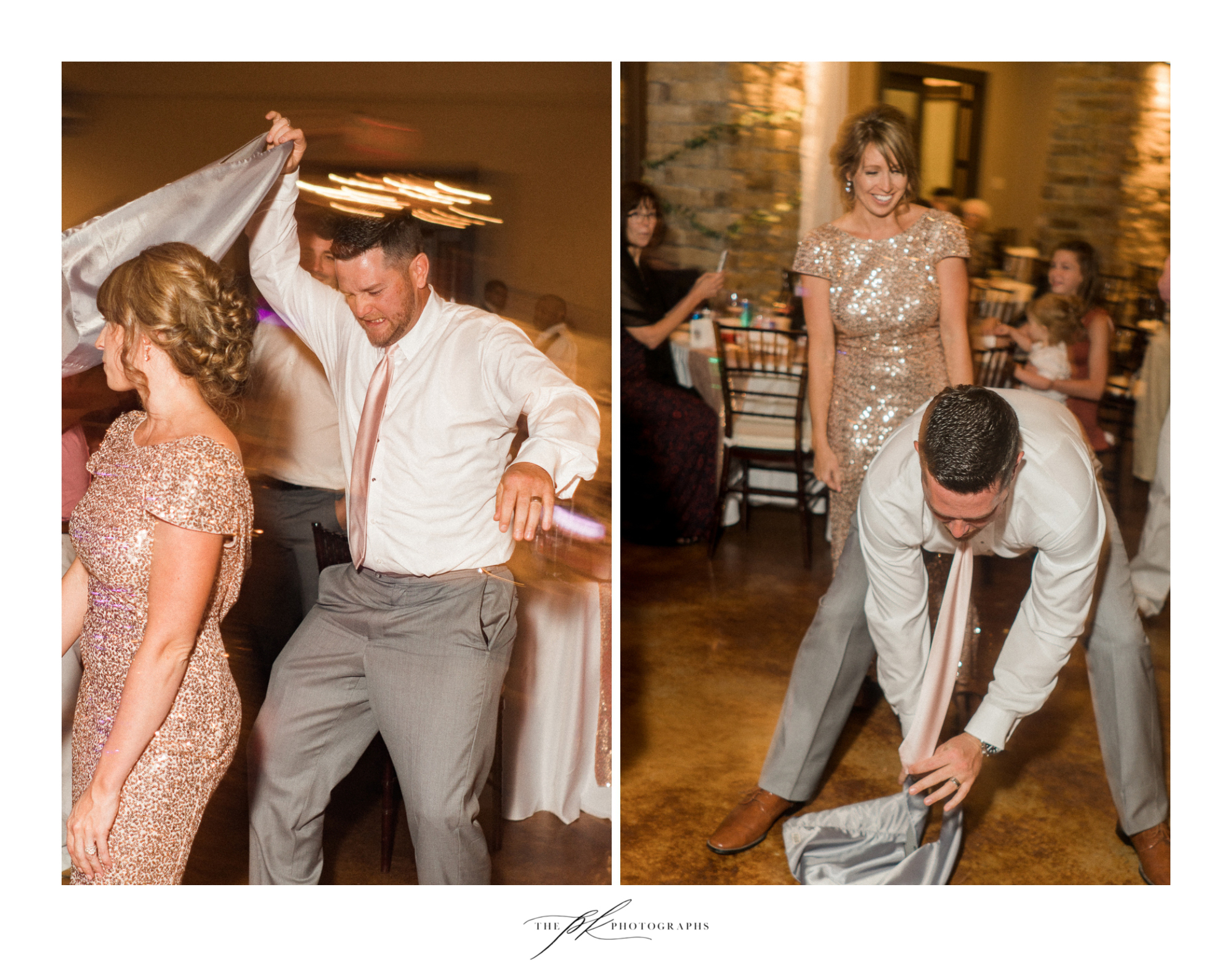 It's so much fun to photograph a wedding where the bridal party and guests are dancing to this degree!  The Lodge At Country Inn Cottages | San Antonio Wedding Photographer