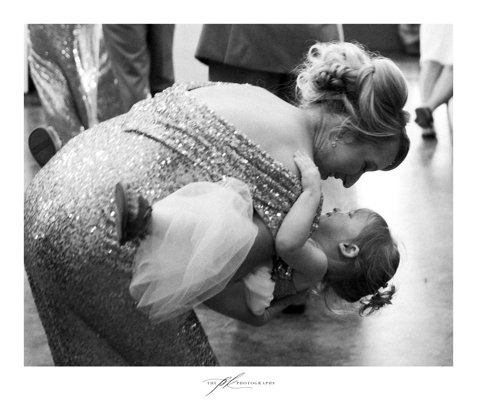 The Bridesmaid (sister of the bride) and Flower Girl (niece of the bride) took their turn on the dance floor as well!  The Lodge At Country Inn Cottages | San Antonio Wedding Photographer