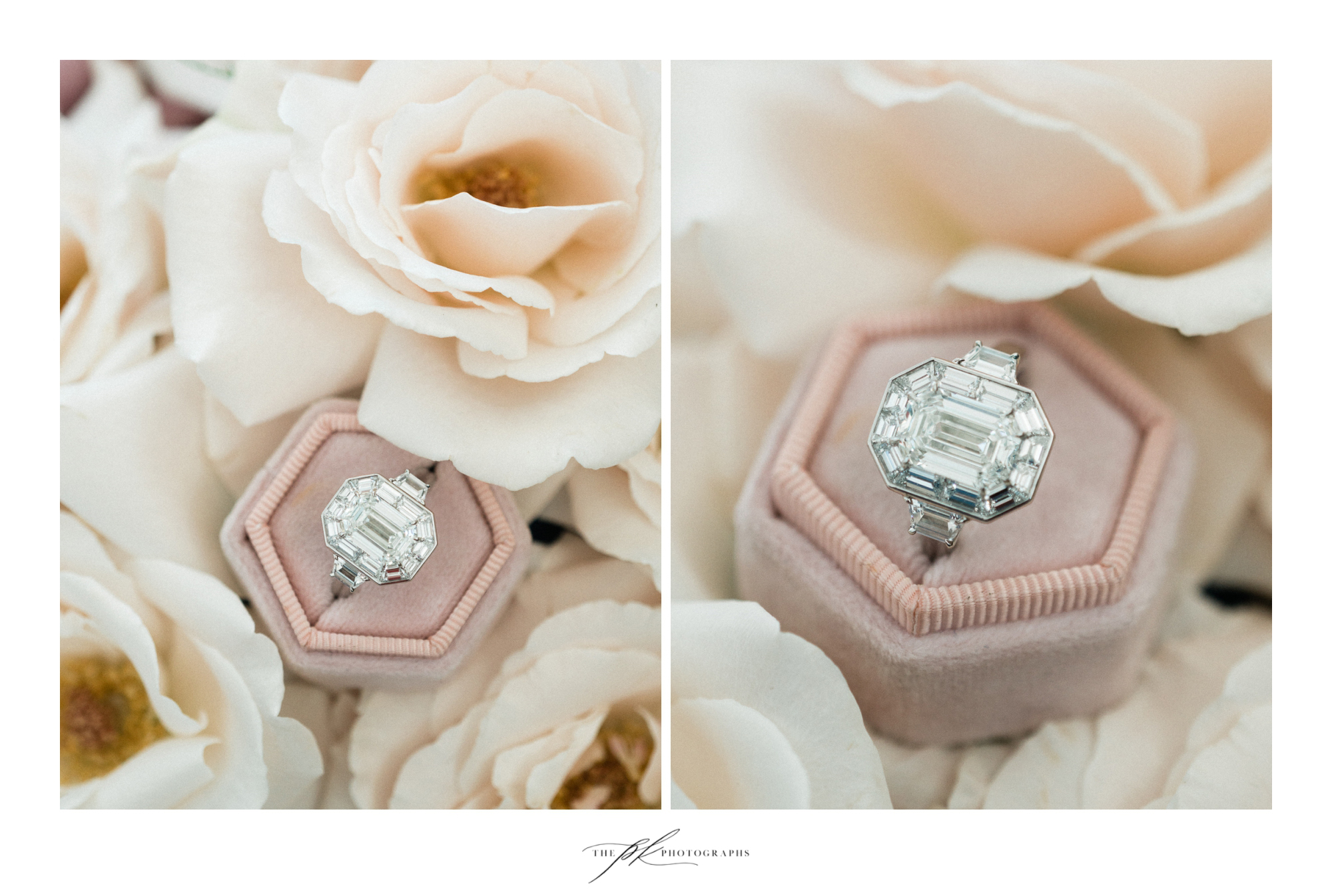 PLANNING / DESIGN / FLORAL DESIGN:  THE VINTAGE BOUQUET BAR   RINGS & JEWELRY :  NICOLE MERA   RING BOX:  YOUR HEARTS CONTENT
