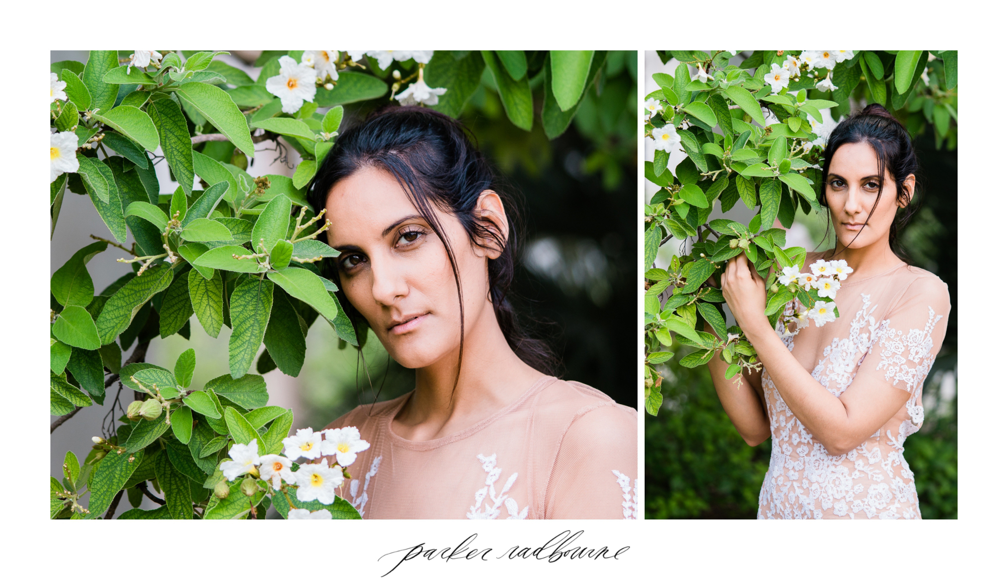Model: Dani Rodriguez Photographer: Parker Radbourne of The PK Photographs Location:  San Antonio Botanical Gardens