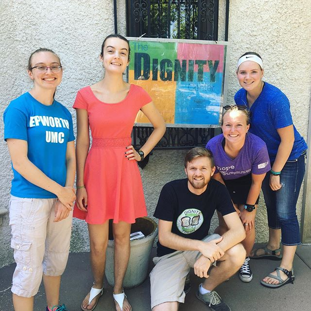 Dignity Center and Hennepin Ave for our morning Wrap-up!