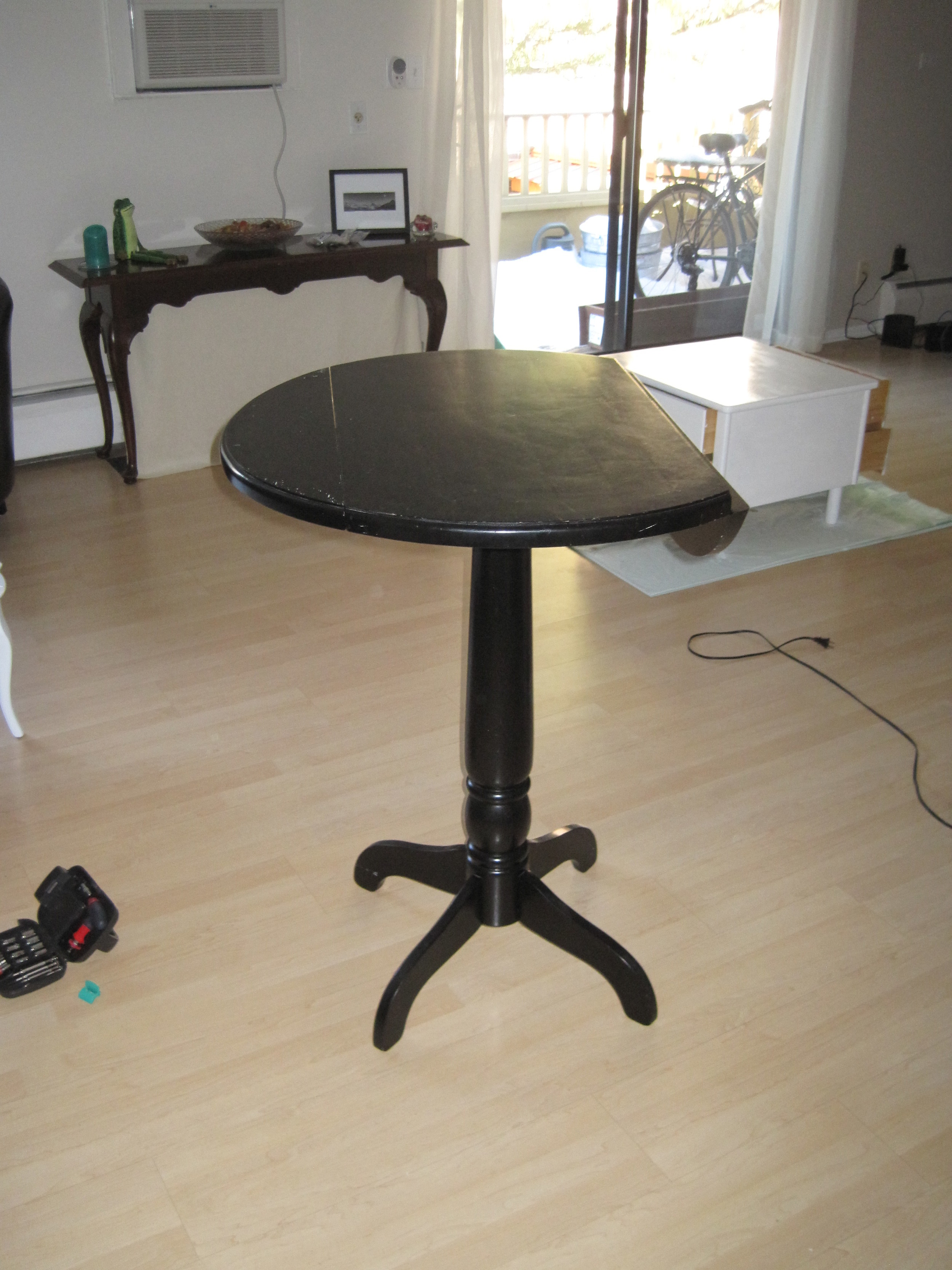 Tall Table Before