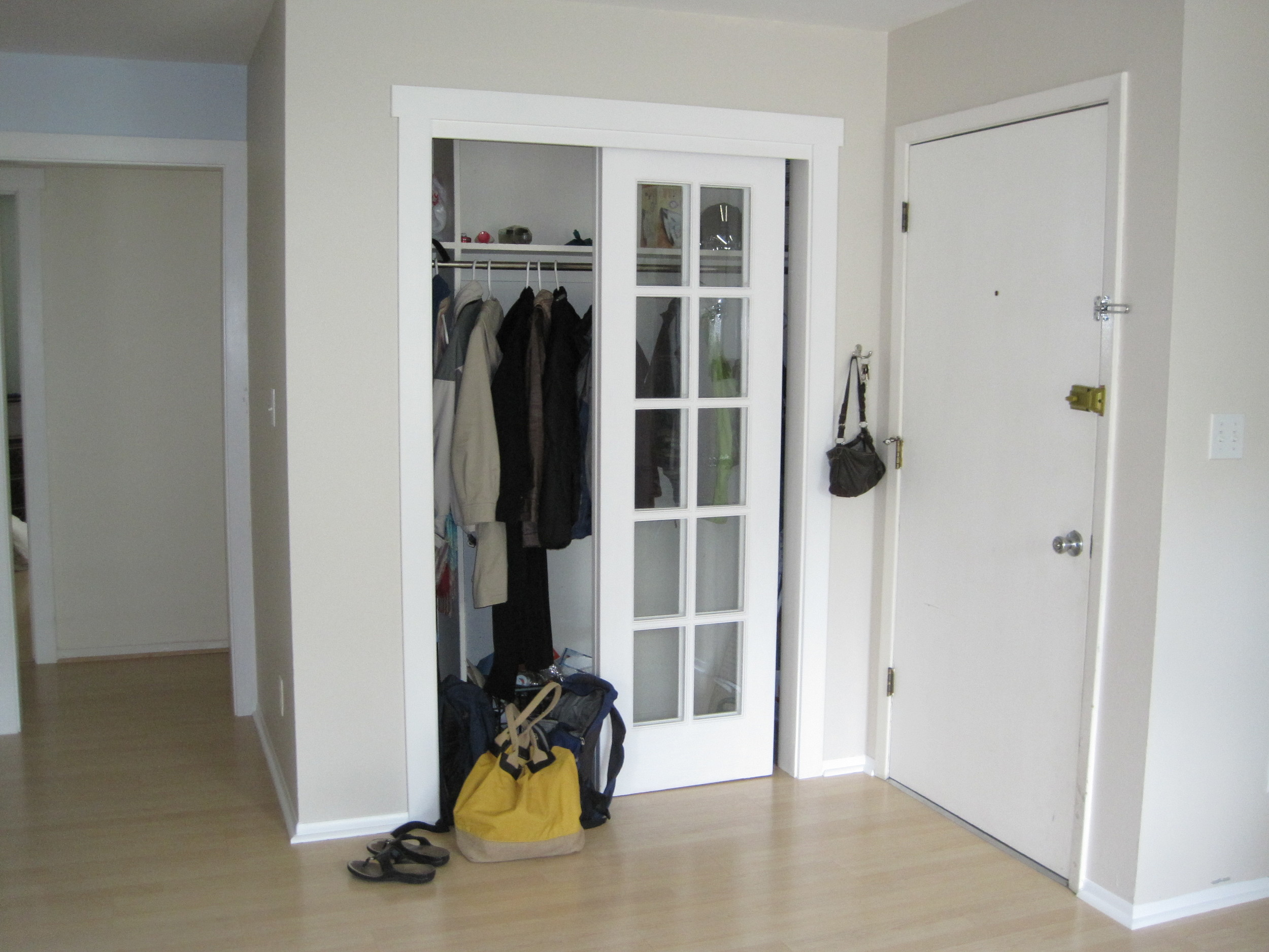 Entry Way Before