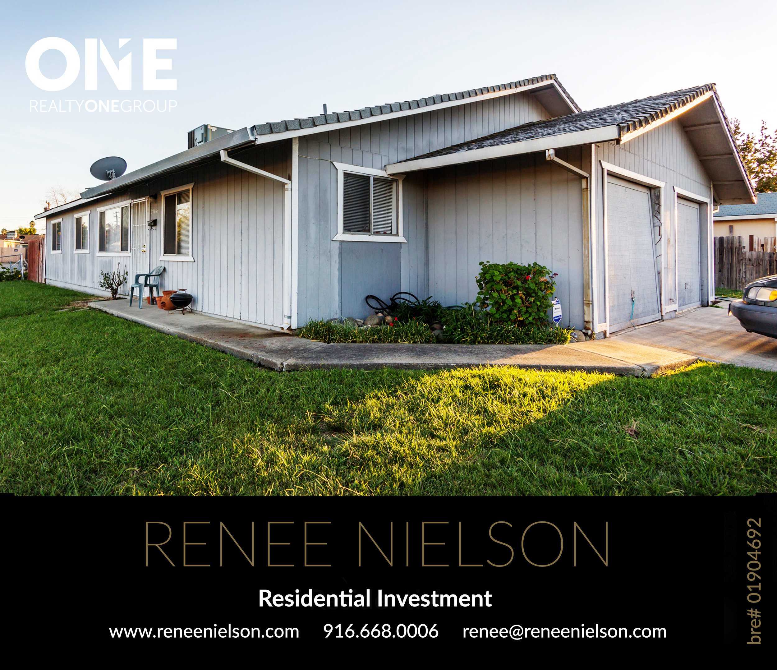 Co-Brokered by Renee Nielson, Realty ONE Group and Broker, Tim Manke.