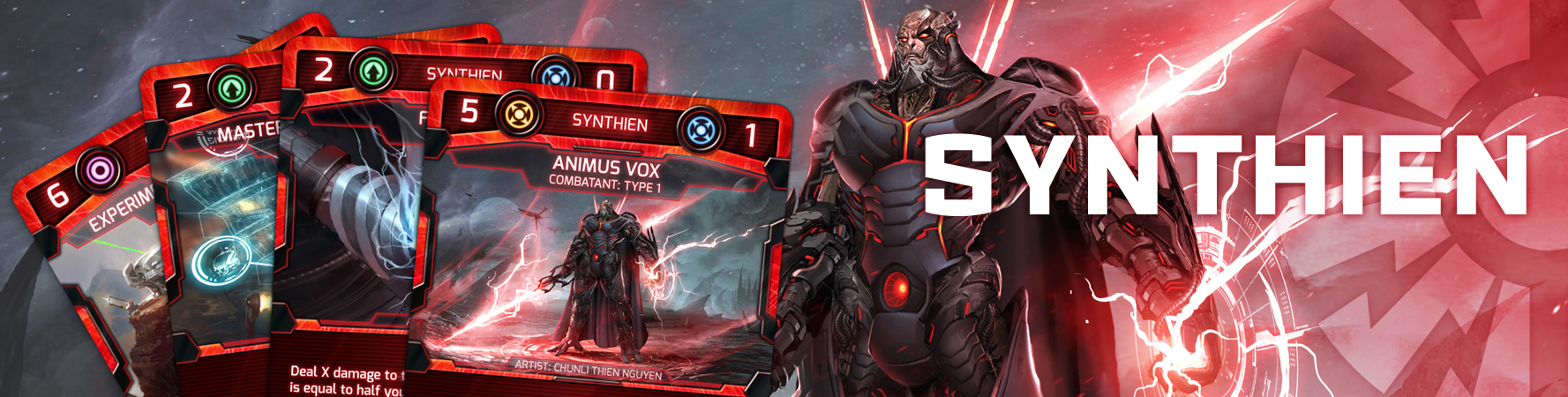 Click to view the Synthien Card Gallery