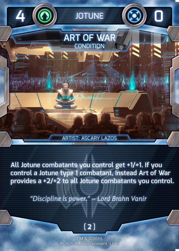 Art of War | Art by Ascary Lazos