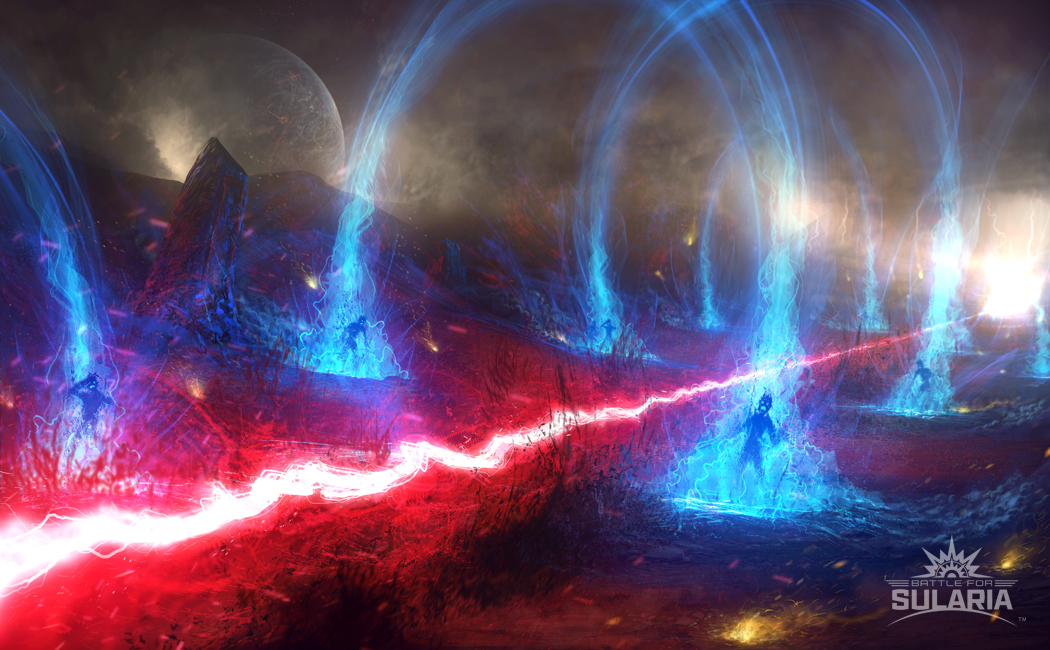 Sularium Flares | Art by Ascary Lazos
