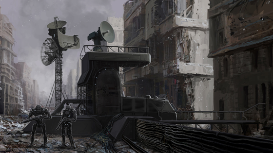 Perimeter Alert System |Art by Philip Dudek