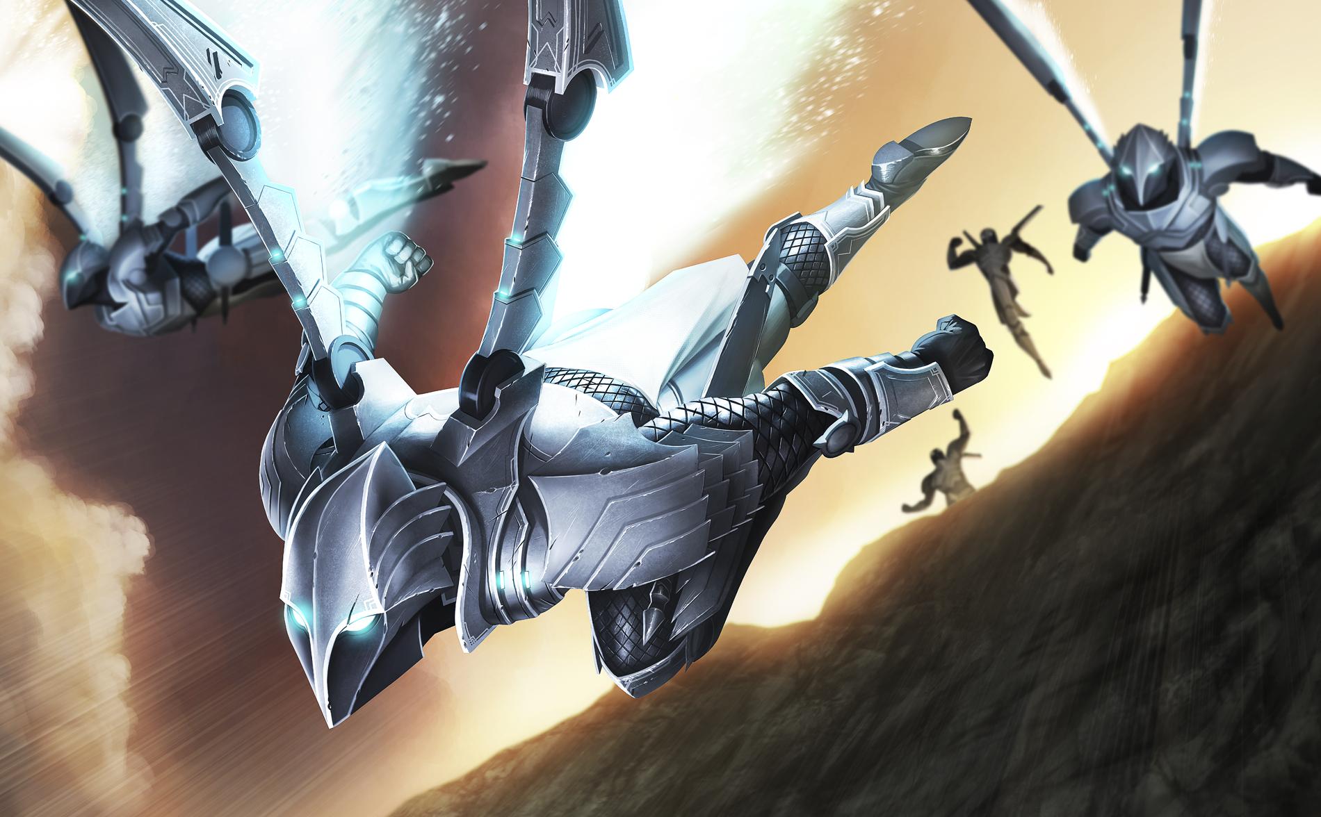 Gray Harrier  | Art by Tots
