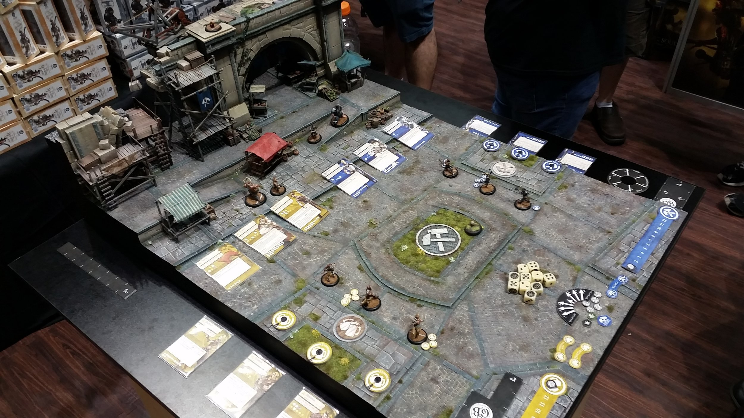 Guild Ball — Deluxe Booth Demo