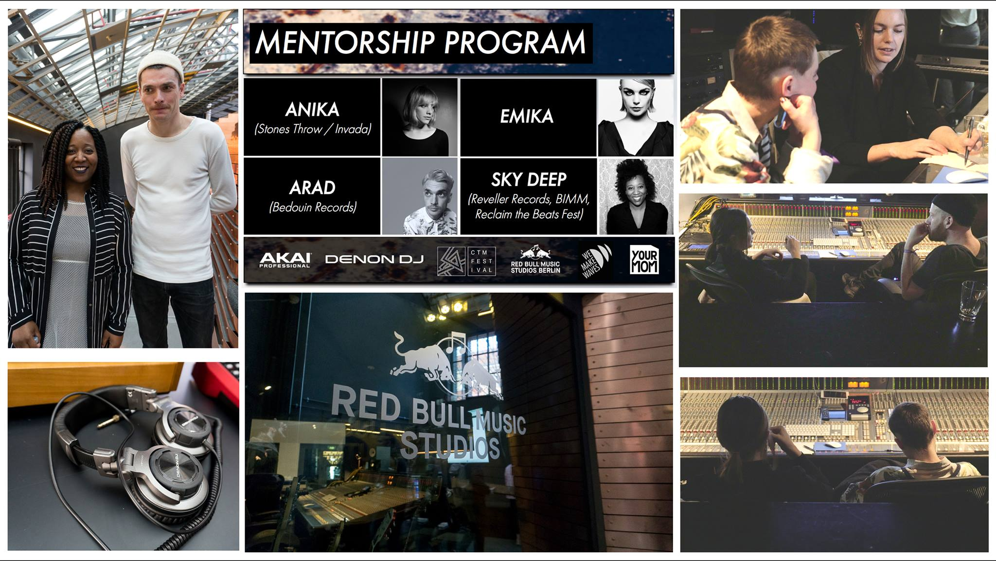 MENTORSHIP PROGRAM:  Received over 150  SoundCloud  tracks. 13 selected participants were selected into the mentor program. Truly amazing to see these artists walk out with such positive and inspiring feedback. An emotional day!