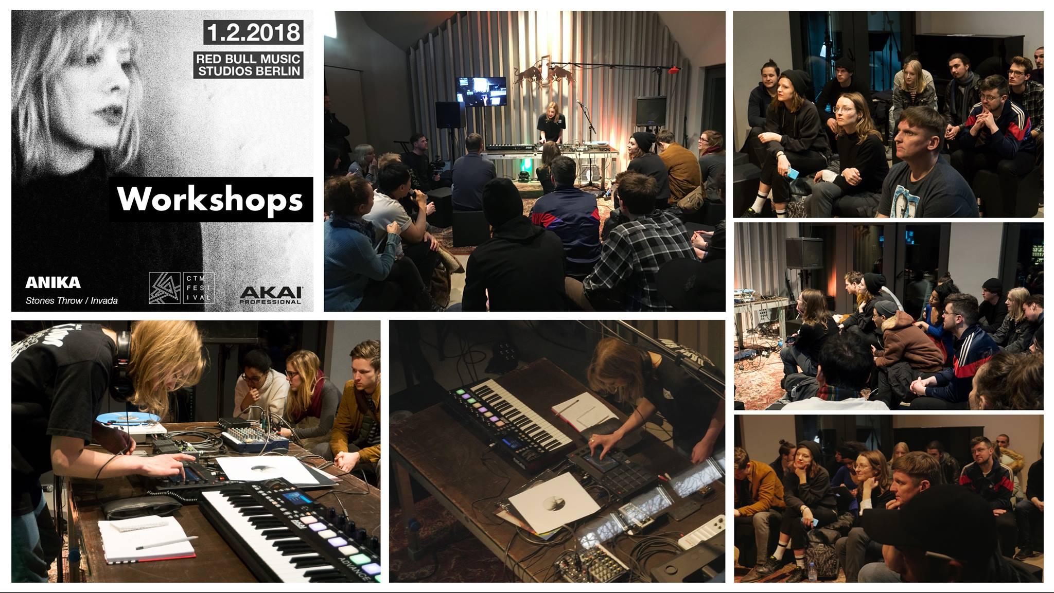 WORKSHOP:  Akai Pro #MPC Live workshop w/  Anika ( Stones Throw Records  /  Invada Records UK )