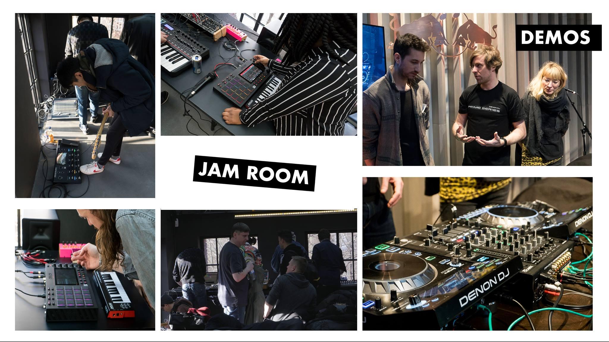 JAM ROOM + DEMO ROOM