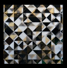 fusion decorative glass sample