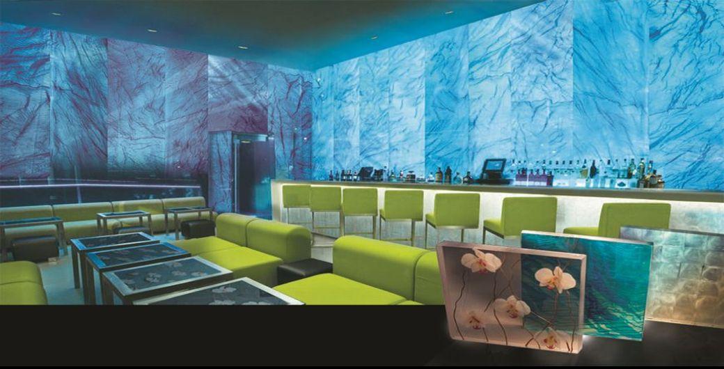 custom glass new york bar