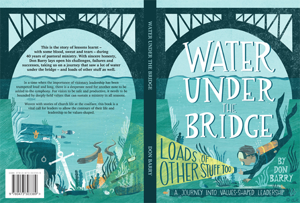 Front & Back Cover - Water Under the Bridge by Don Barry