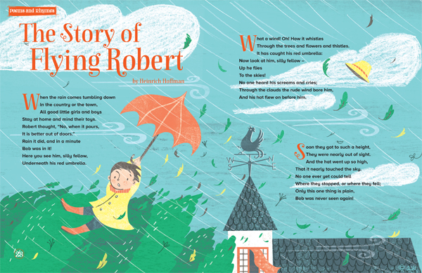 Storytime Magazine - Issue 10- The Story of Flying Robert