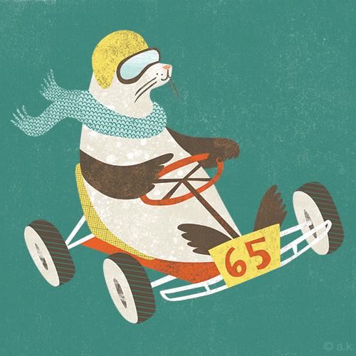 Go Karts - Fur Seal