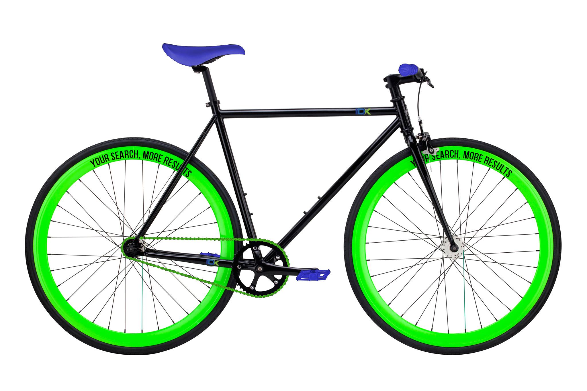 IDX broker custom pure fix bike