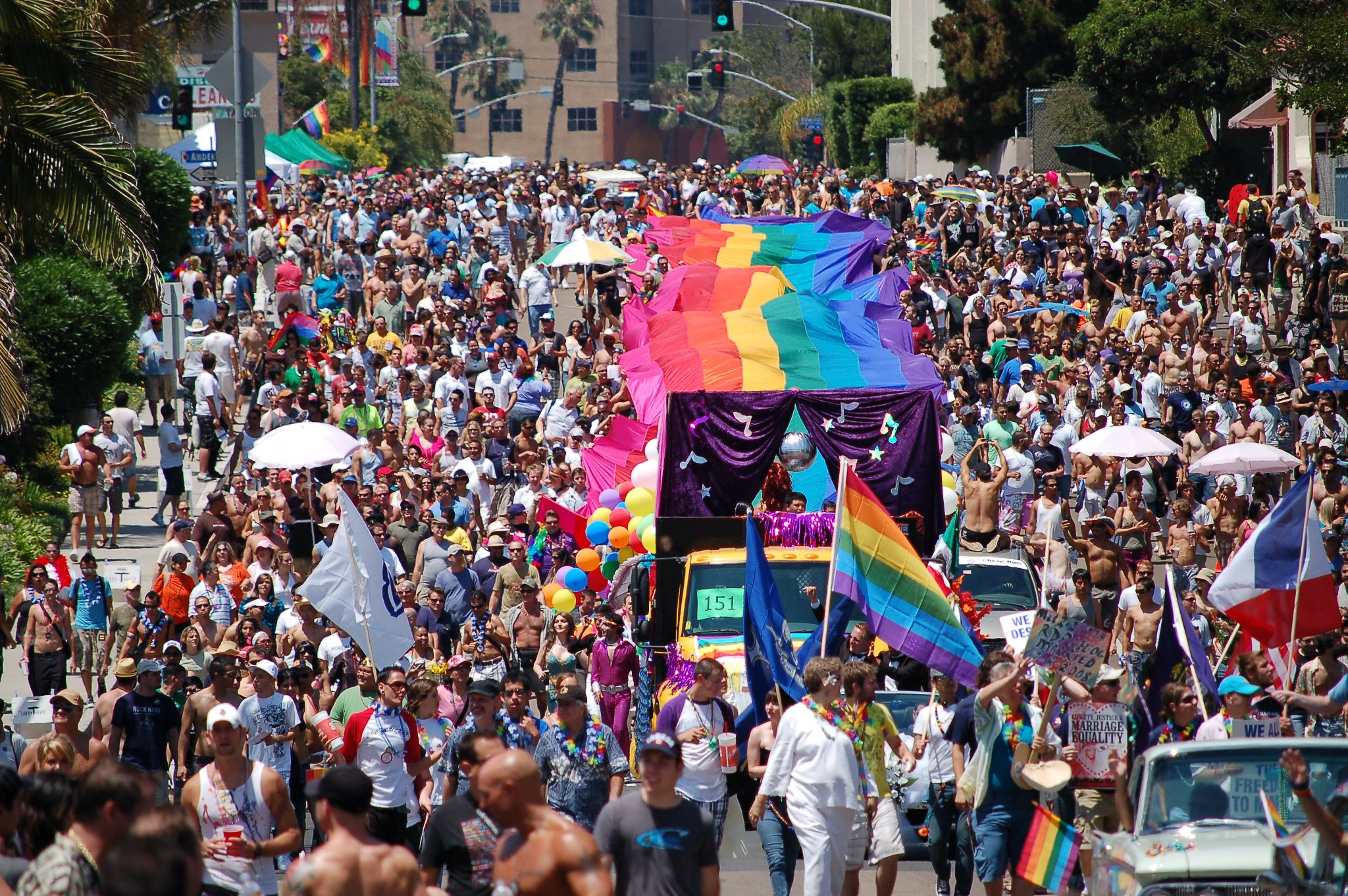SAN DIEGO LGBT PRIDE PARADE AND FESTIVAL