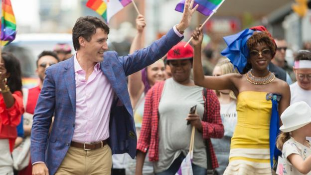 Canadian Prime Minister Justin Trudeau has been a vocal advocate for LGBT rights