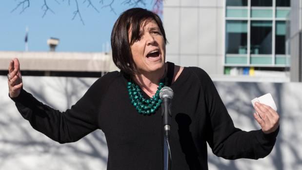 Green Party rainbow spokeswoman Jan Logie.
