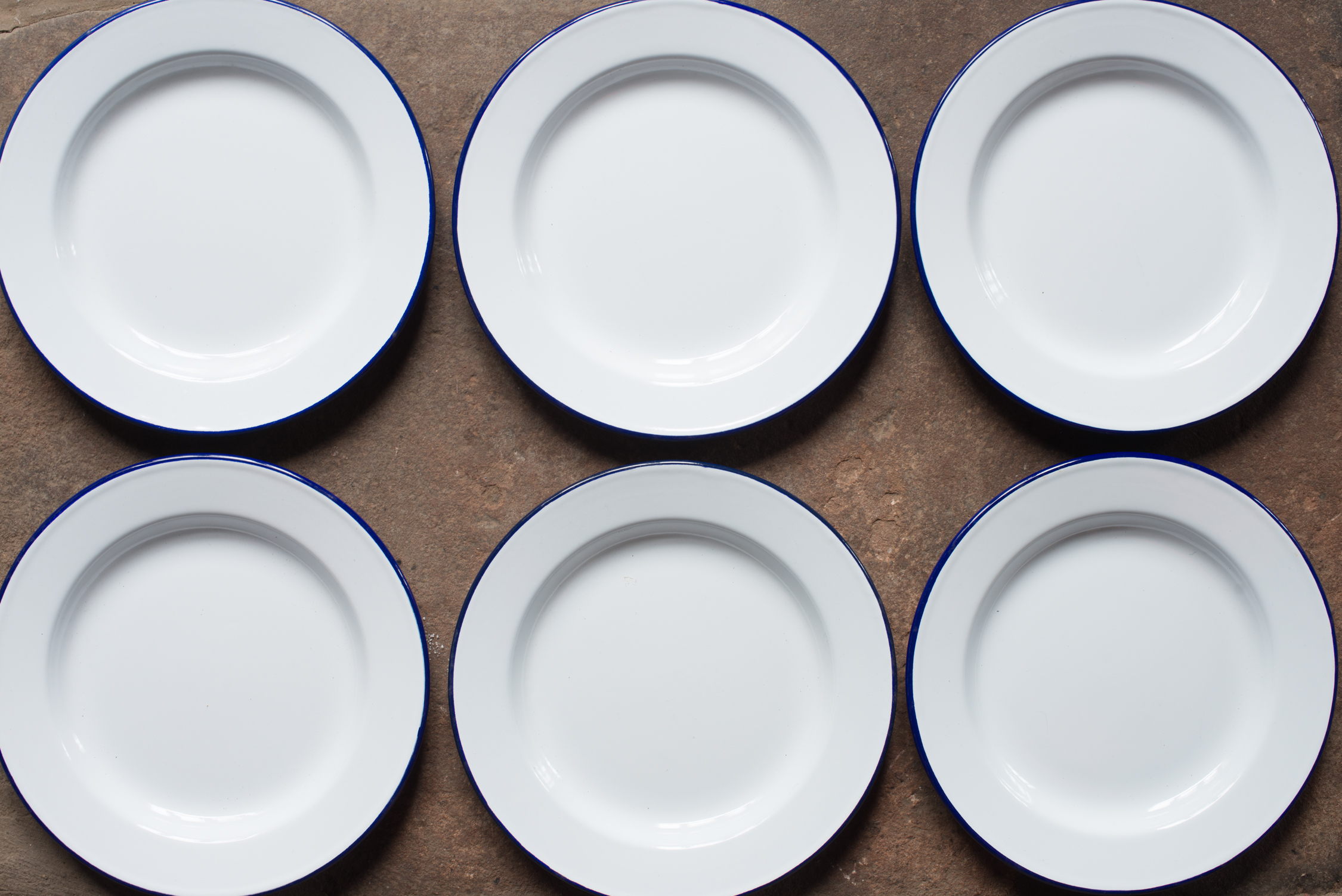 FalconEnamelware Plates (Main Course//Starter)