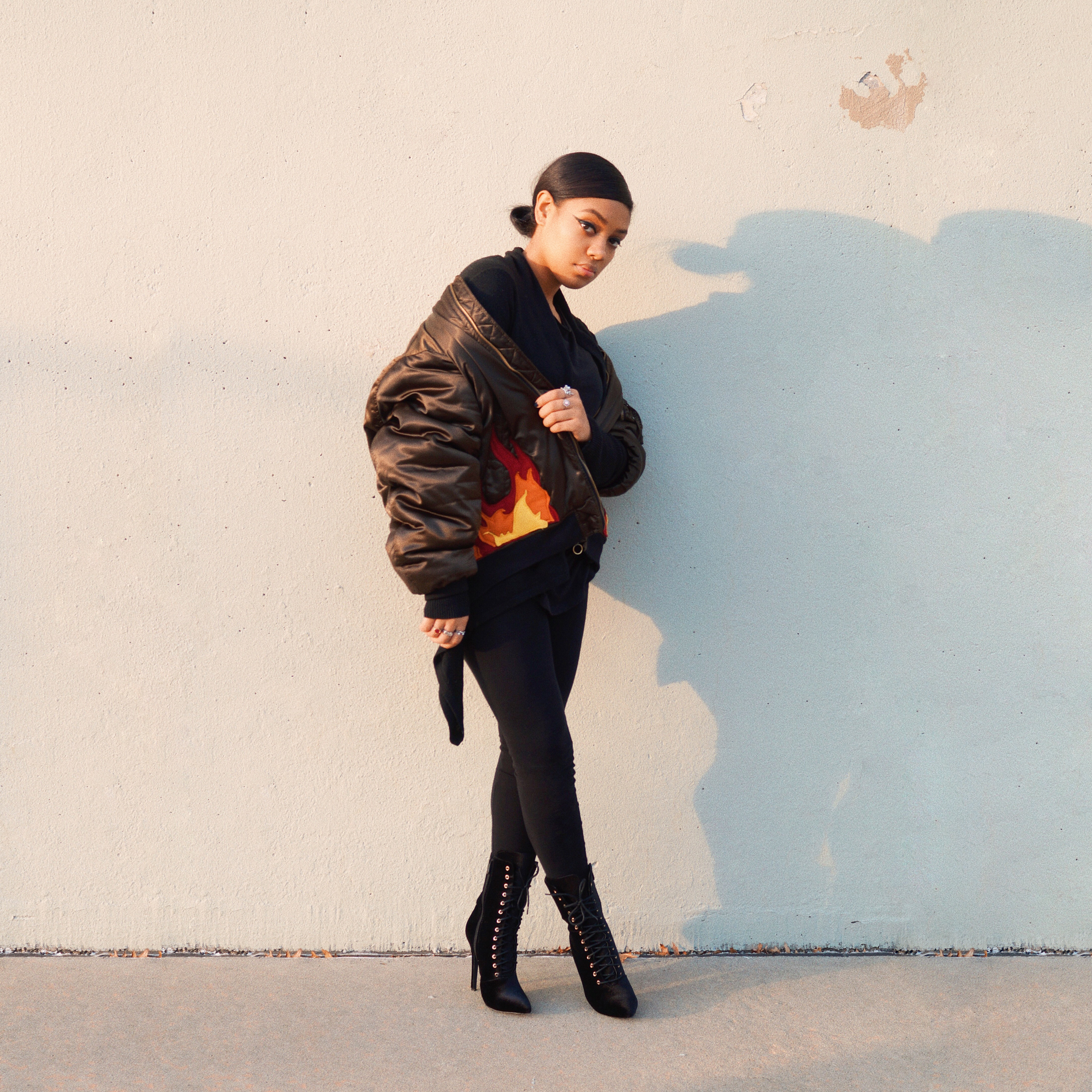 Coat: Zara / Customized by Kenneth Callier   Shoes: PublicDesire