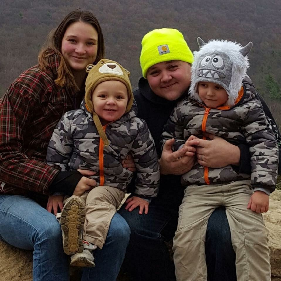 Keegan and his family