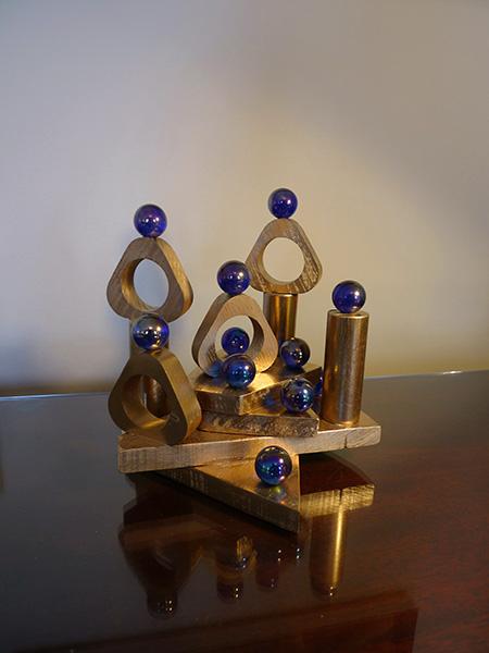 Golden sculpture #3
