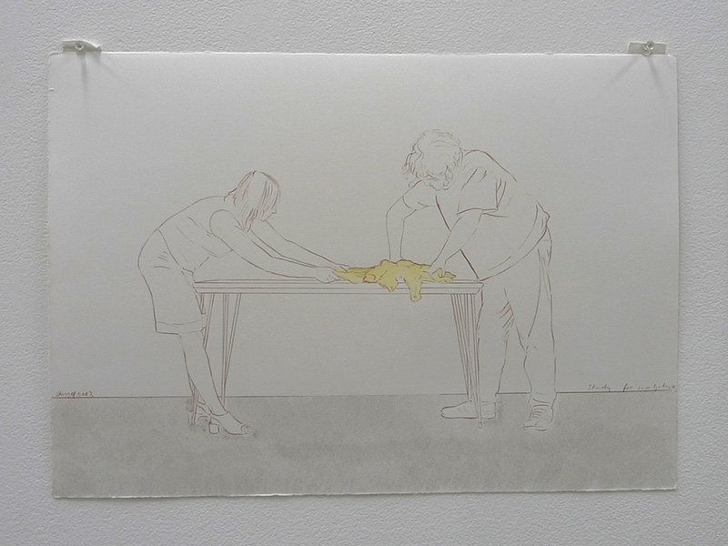Study for sculpture #1, 2003
